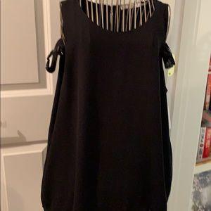 Sioni black dressy top